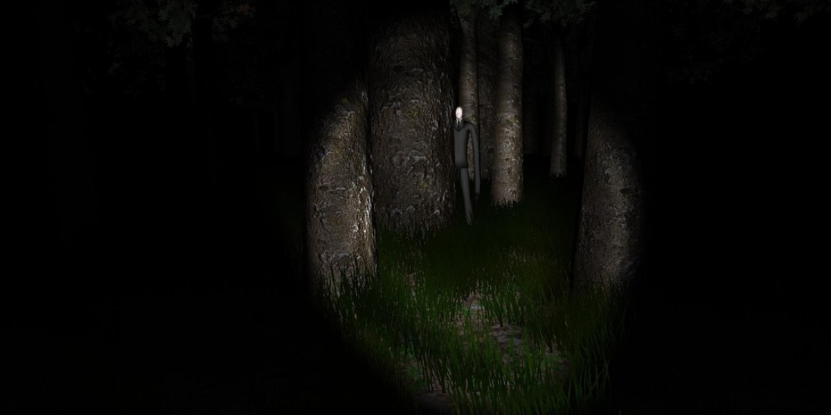 scariest video games slender the eight pages