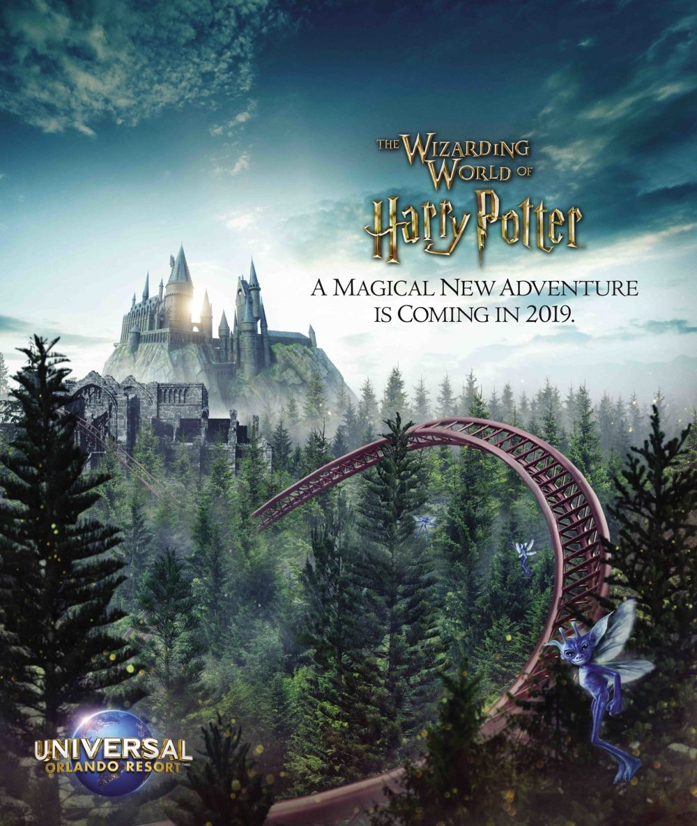 Hagrid's Magical Creatures Motorbike Adventure Coming to Wizarding World