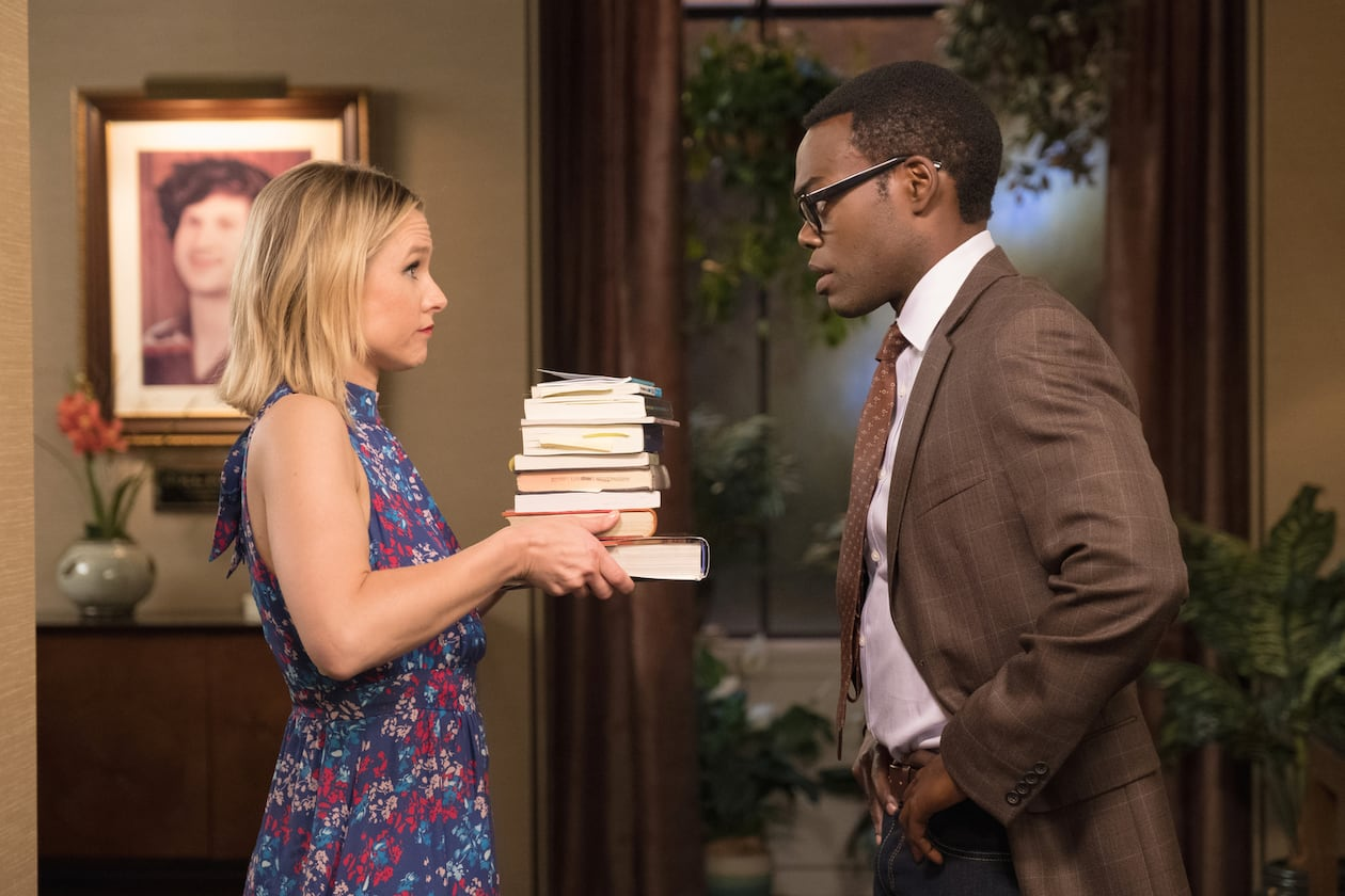 Are Chidi and Eleanor real soulmates on 'The Good Place'?