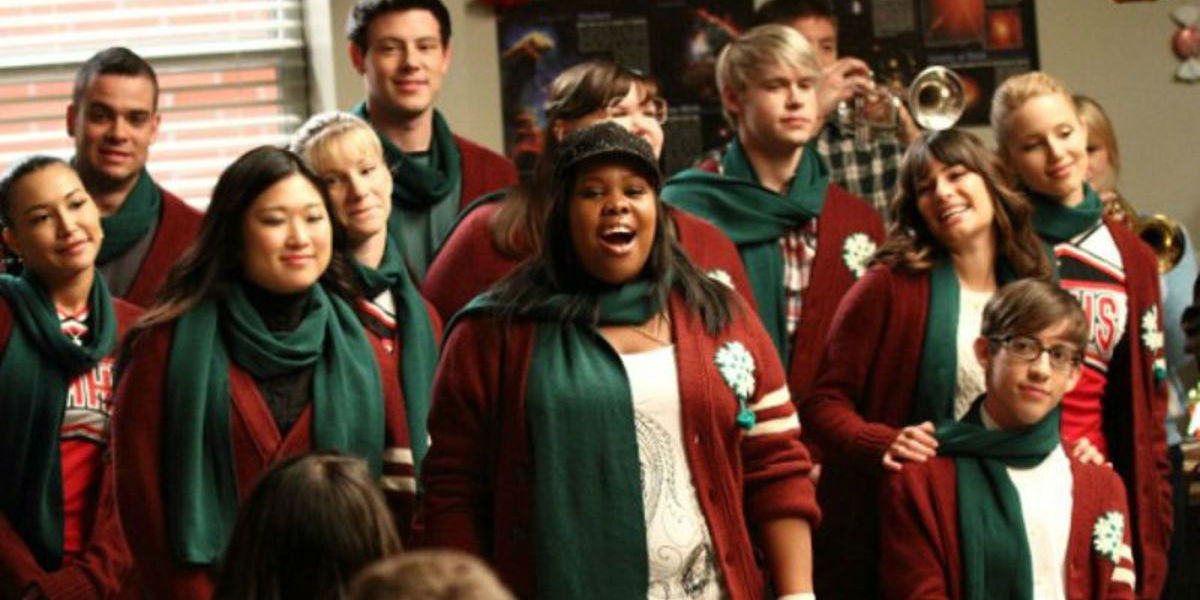 Glee Christmas Episodes very glee christmas