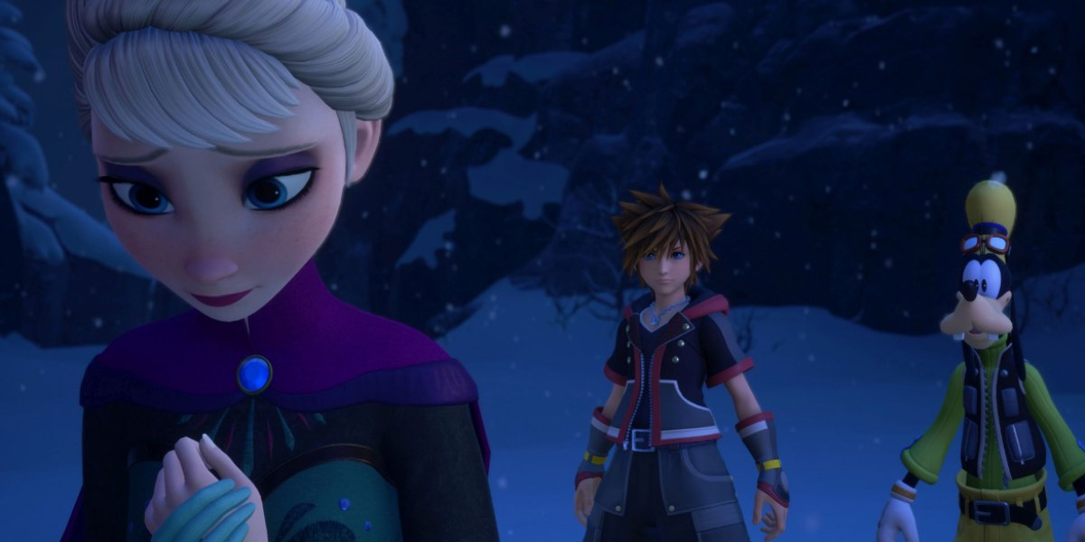 kingdom hearts 3 worlds guide frozen