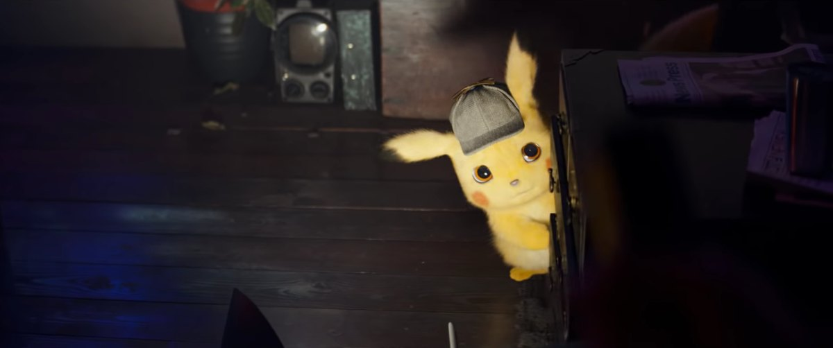 live-action pokemon detective pikachu first look