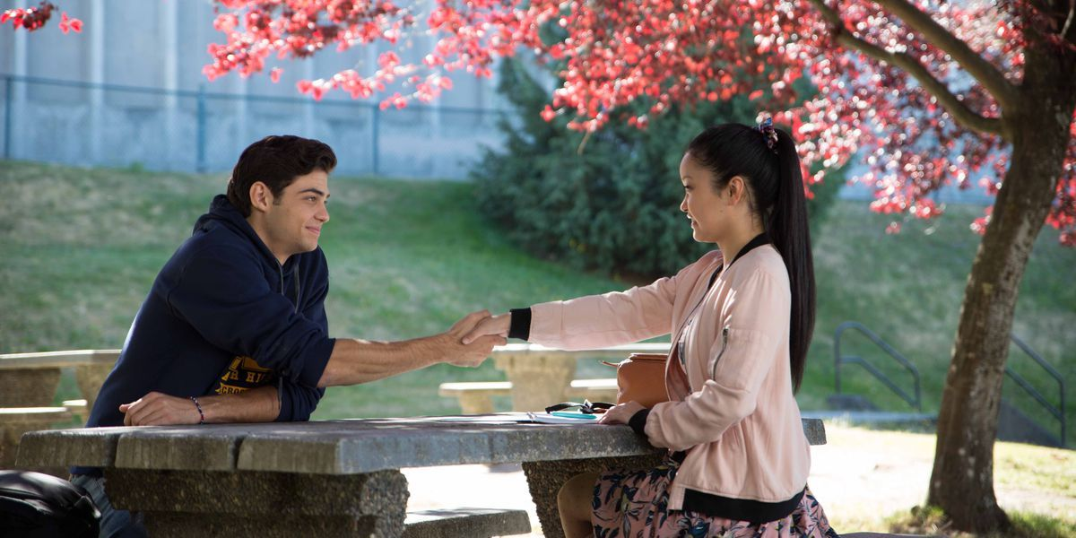 lara jean peter kavinsky first meet