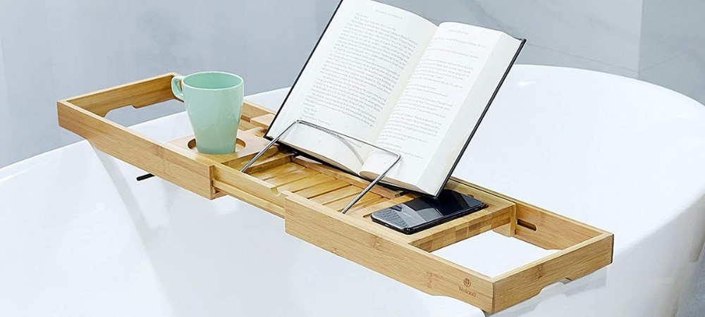 Last Minute Gifts for Book Lovers: Bathtub Caddy