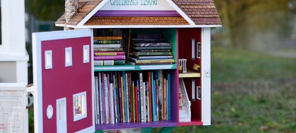 Last Minute Gifts for Book Lovers: Little Free Library
