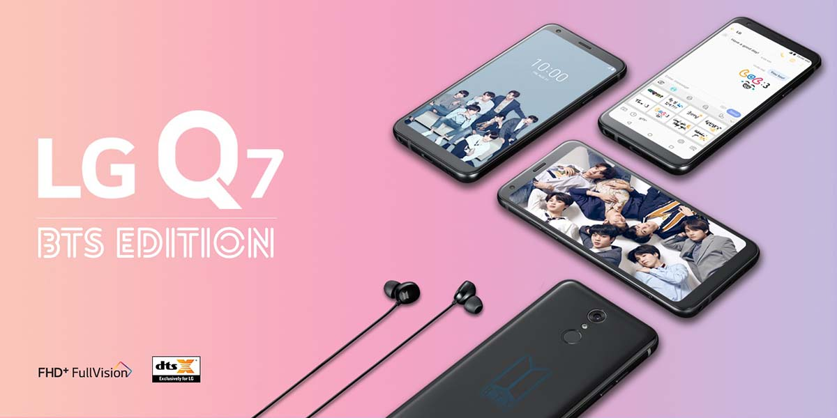 newest c1fb3 d5282 LGxBTS review: Is the LG Q7+ BTS Edition worth the switch? | Hypable