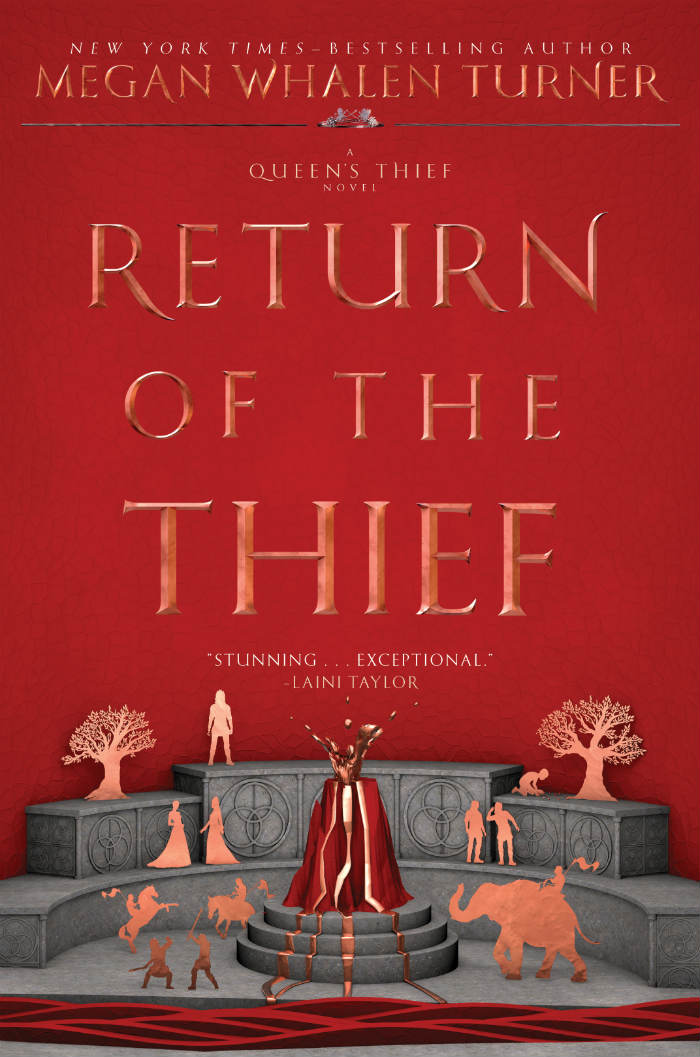 Return of the Thief, Queen's Thief Book 6