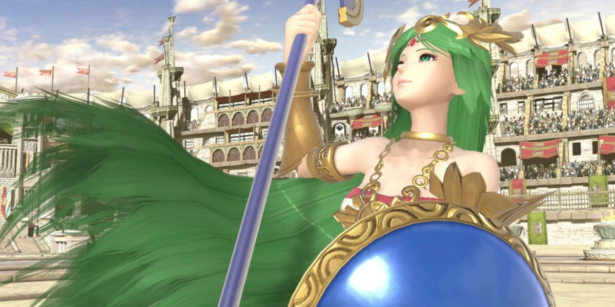 smash ultimate release date palutena
