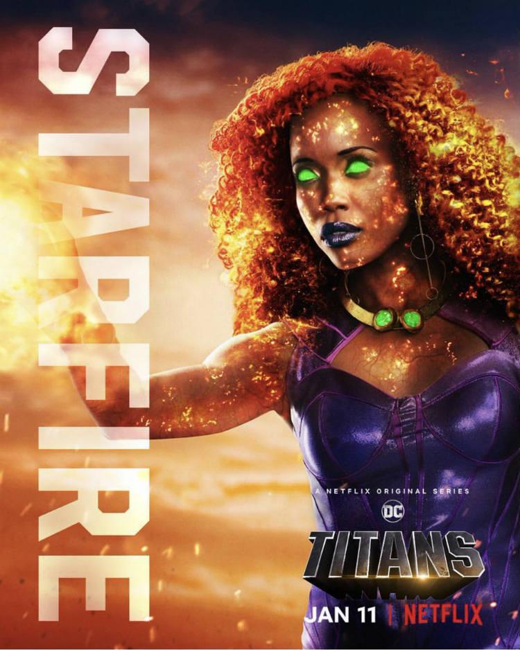 Starfire in Titans