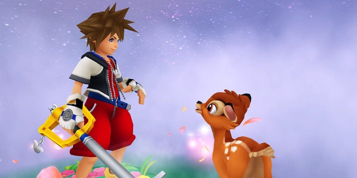 kingdom hearts fans bambi