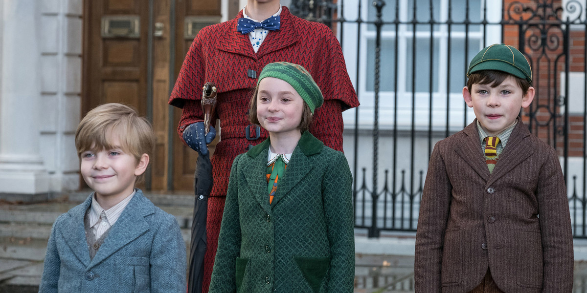 mary poppins returns children