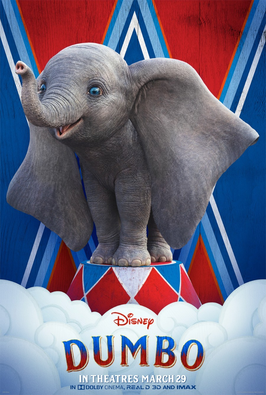 Check out new 'Dumbo' sneak peek and character posters