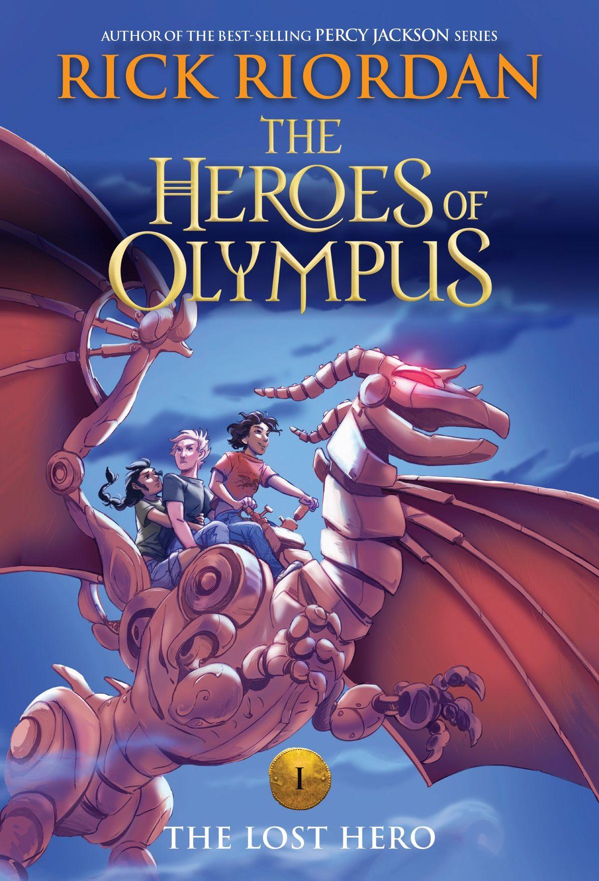 Heroes of Olympus' series by Rick Riordan receives updated