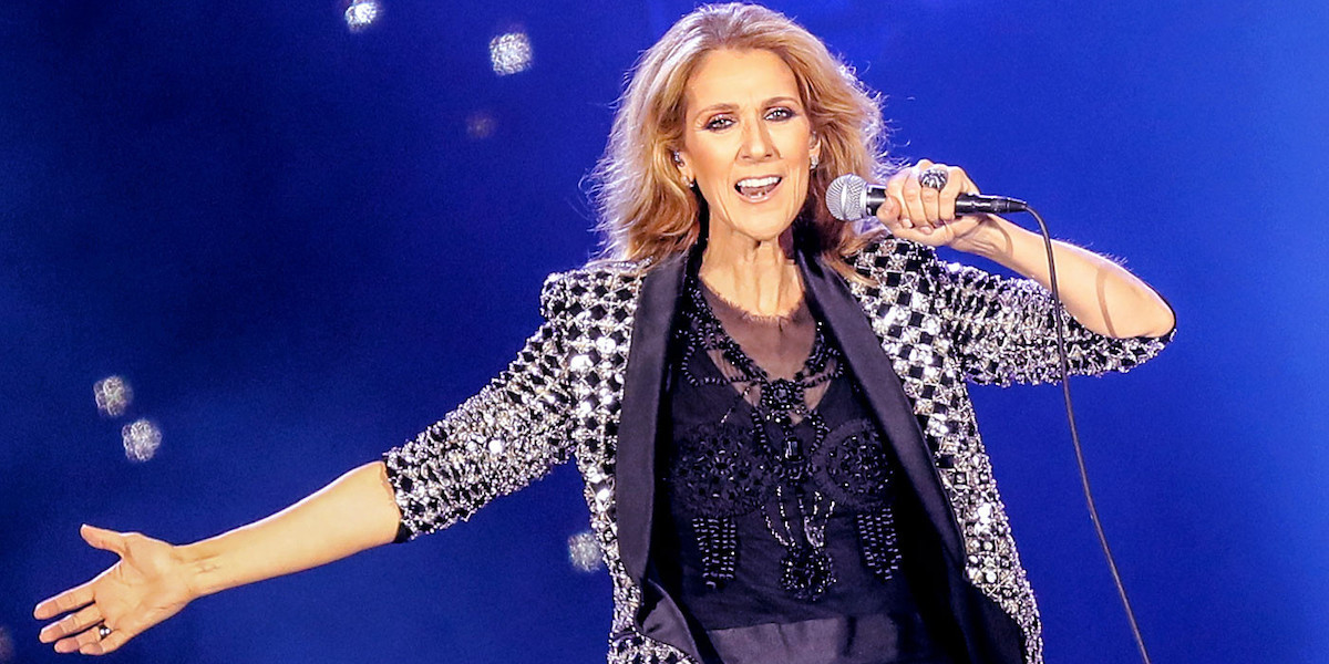 Celine Dion is the next music icon who's getting the biopic treatment