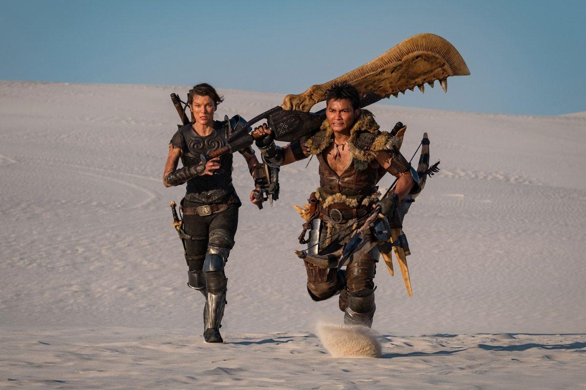 milla Jovovich monster hunter movie adaptation