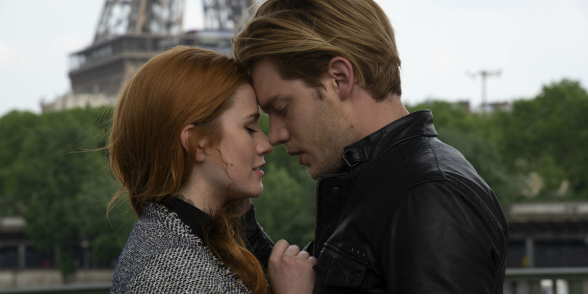 Shadowhunters 3x12 Clace