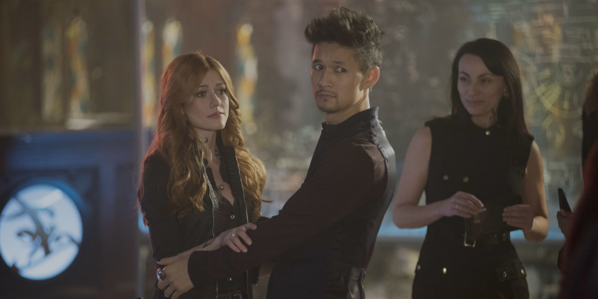 Shadowhunters 3x13 Clary Magnus