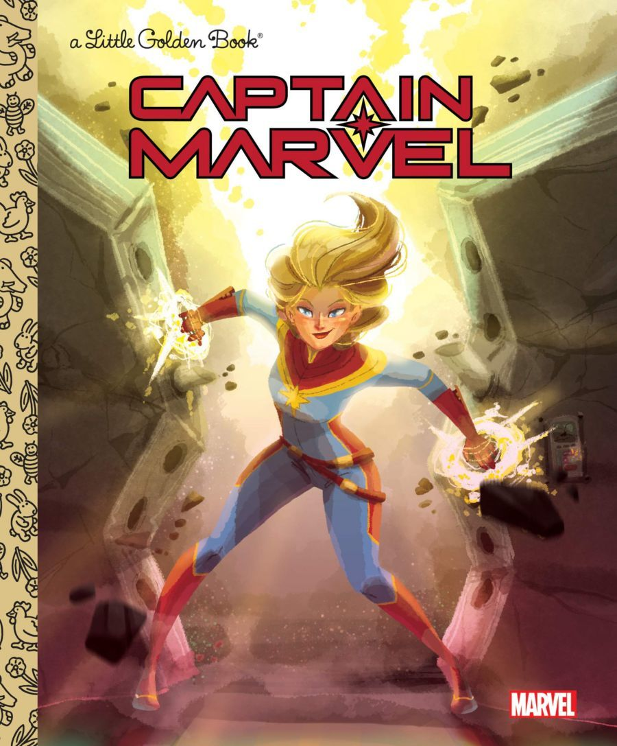 Captain Marvel' books: 'Higher, Further, Faster' and 20 other great