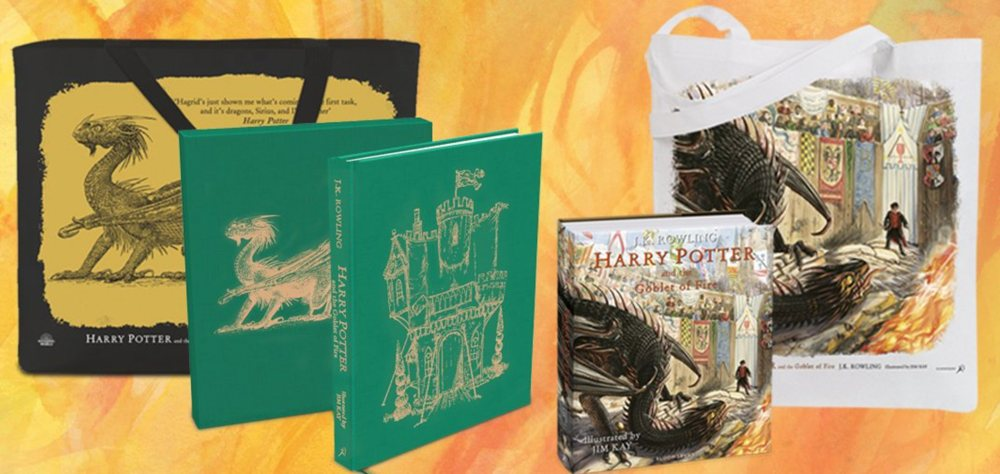 Harry Potter and the Goblet of Fire' Illustrated Edition