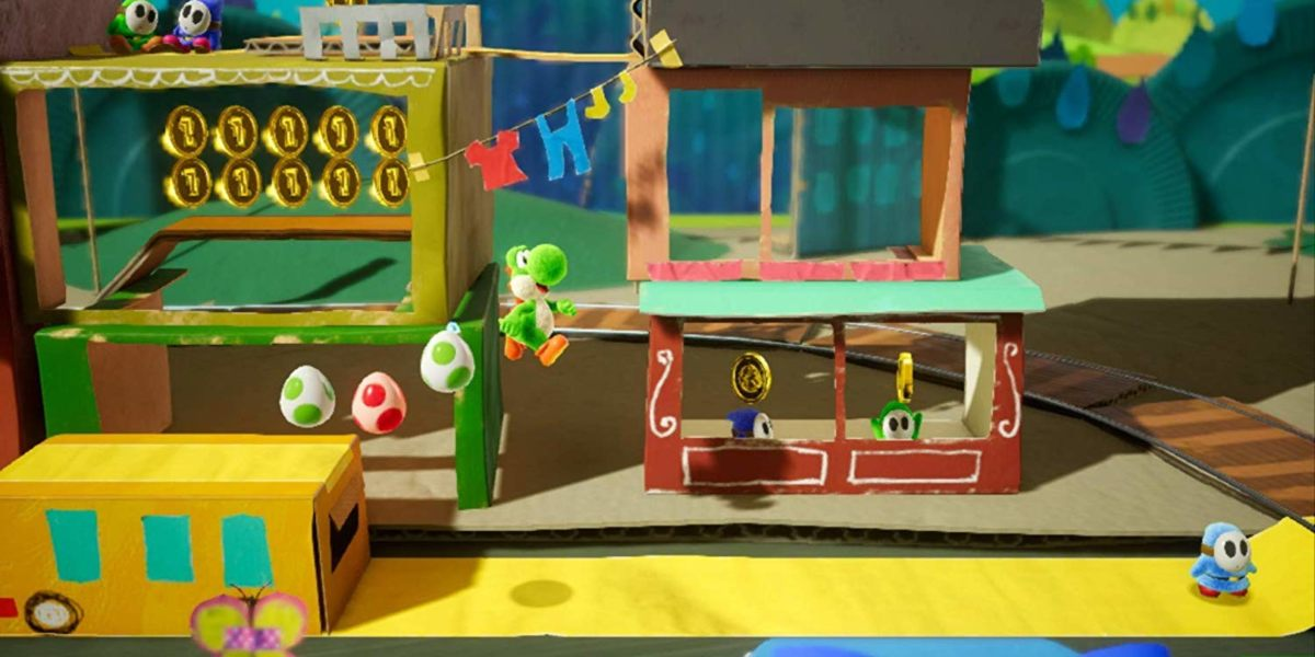 yoshis crafted world review level design