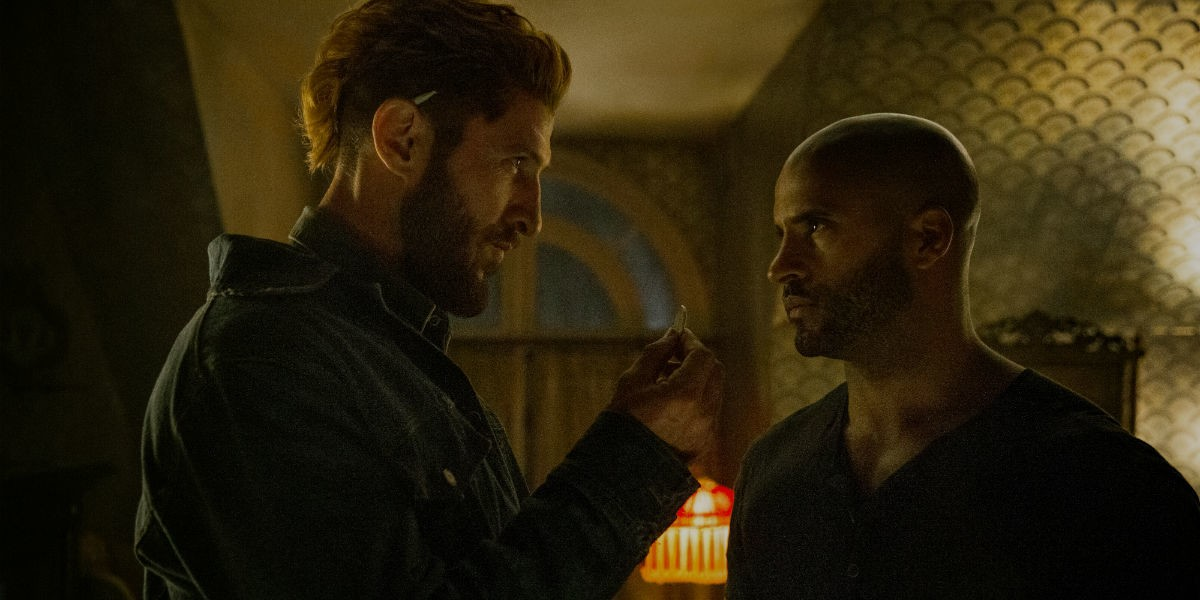 American Gods 2x07 sweeney coin