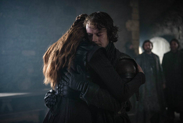 Theon and Sansa