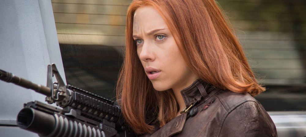 Black Widow on the Causeway (Captain America: The Winter Soldier)