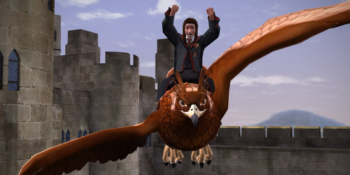 harry potter mmo hippogriff