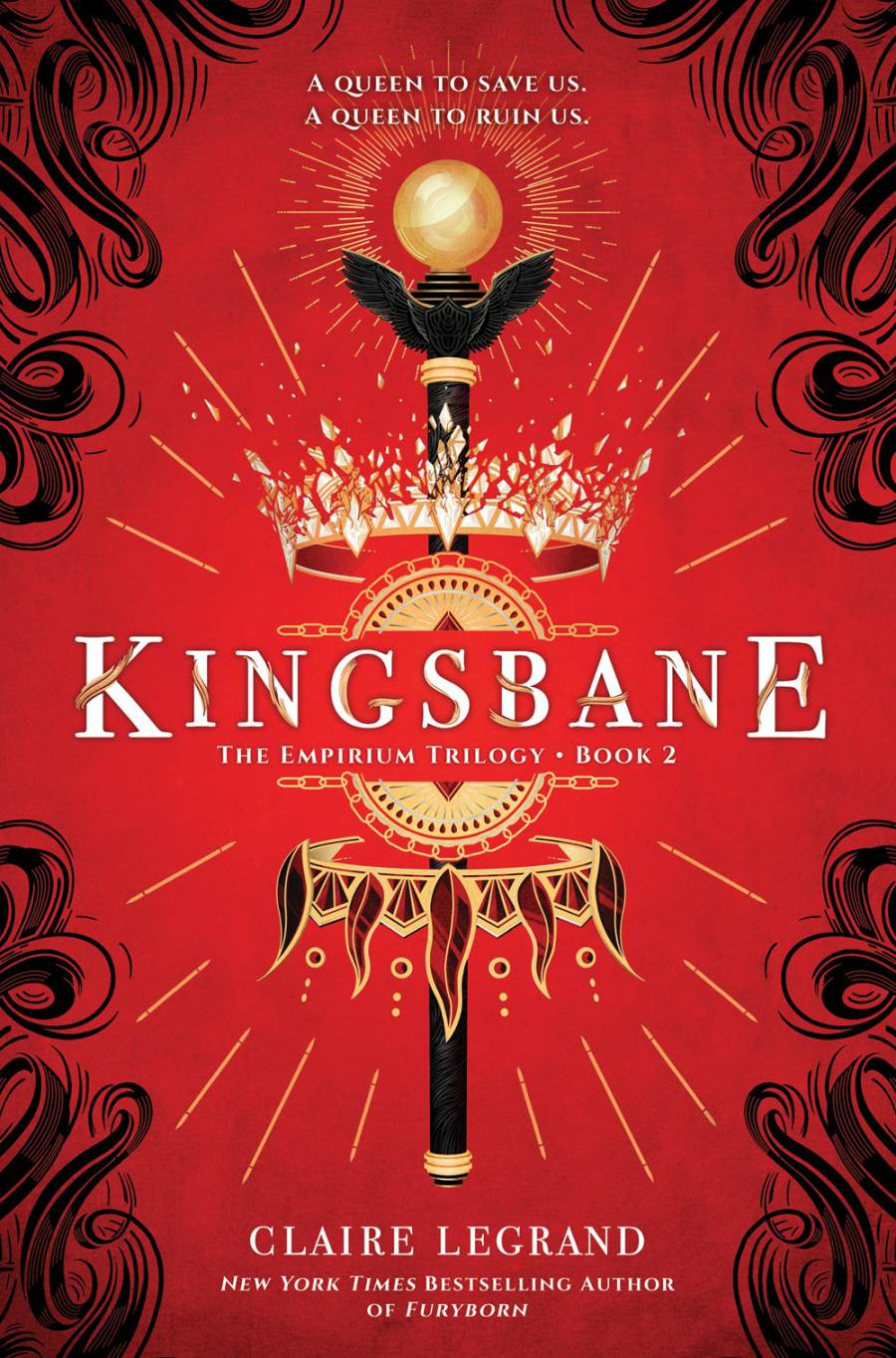 Kingsbane (Empirium #2) by Claire Legrand