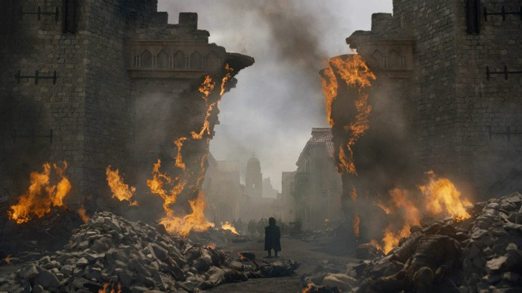 Burned Kings Landing