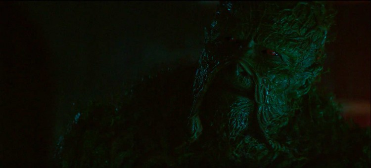 Swamp Thing in Alec's lab