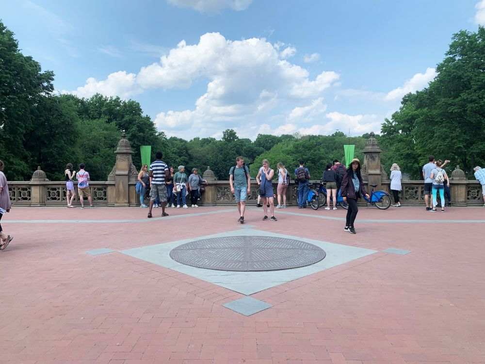 Avengers filming locations: Bethesda Terrace