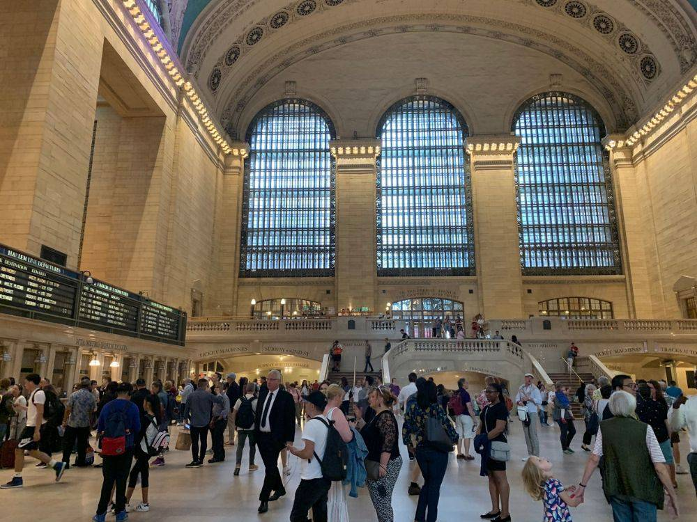 Avengers filming locations: Grand Central Terminal