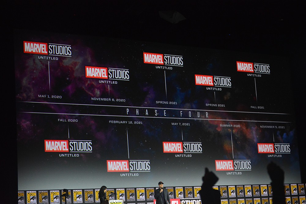 SDCC liveblog: Marvel Studios reveals Phase 4 of the MCU