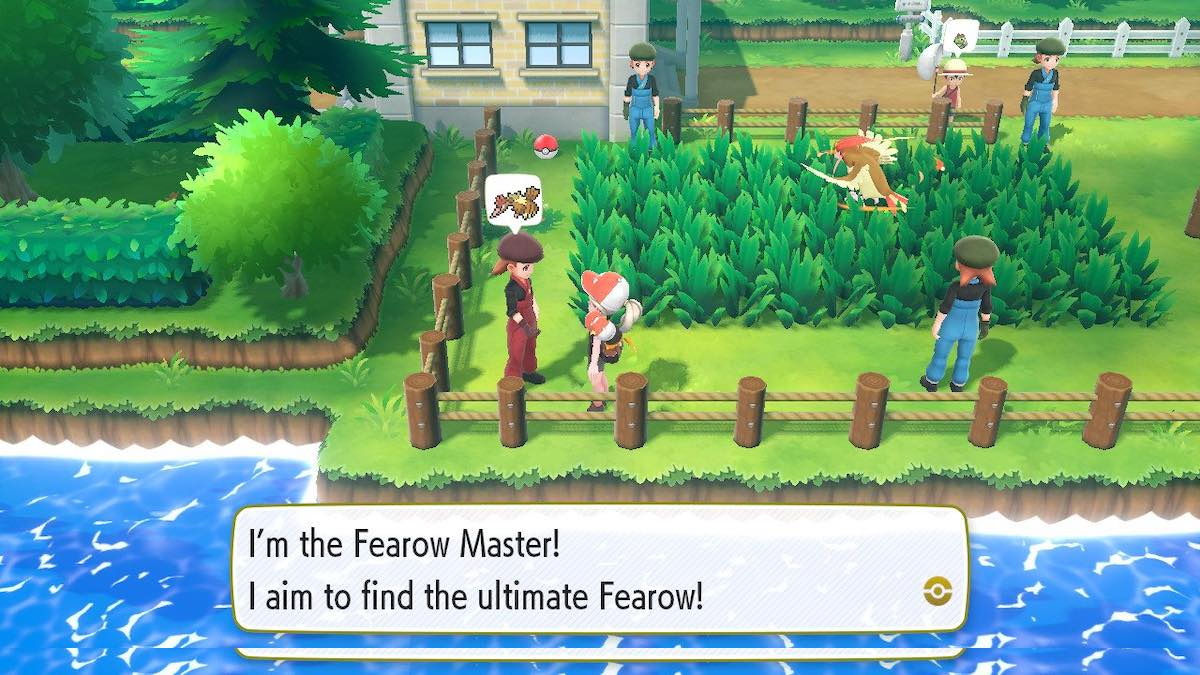 Fearow Master Trainer location