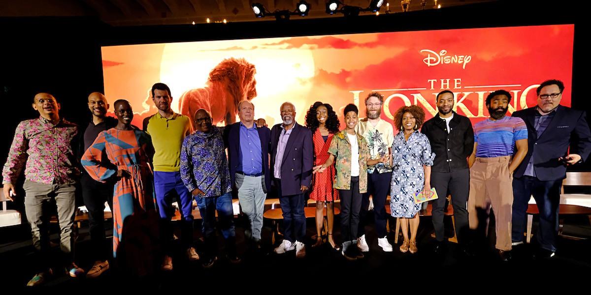 u2018the lion king u2019 cast highlights new tech  commitment to