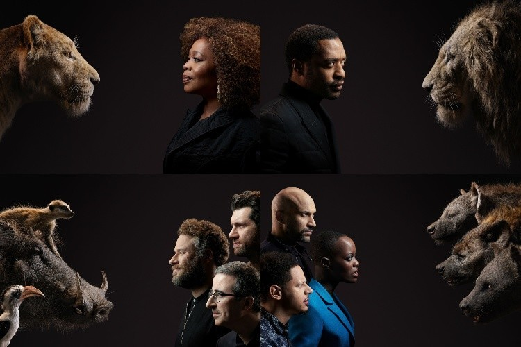 Jon Favreaus The Lion King Drops New Cast Photos And