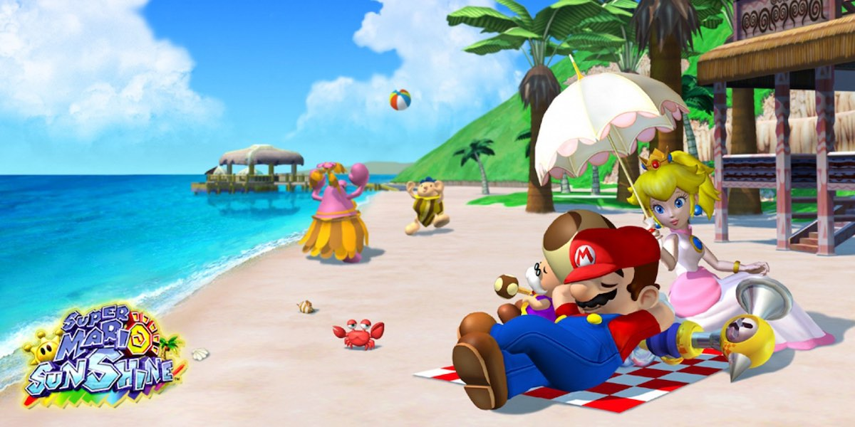 super mario sunshine 2 release date switch