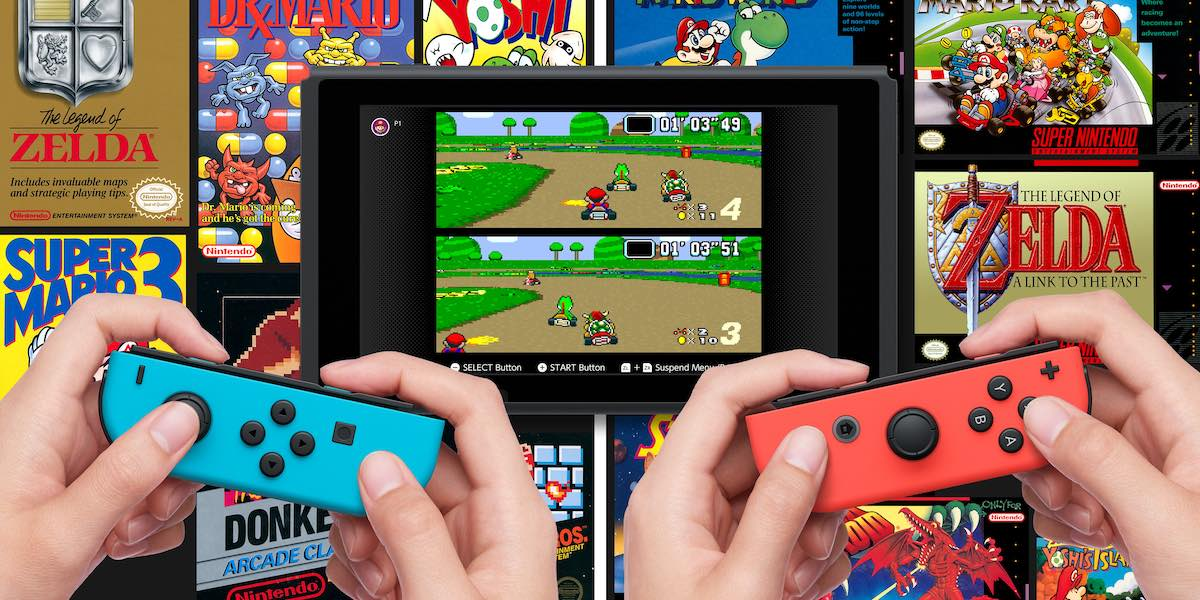 SNES games now available for free on Nintendo Switch Online