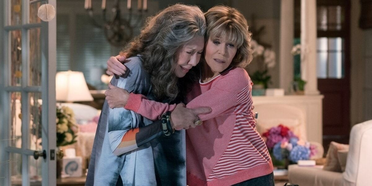 grace and frankie end together