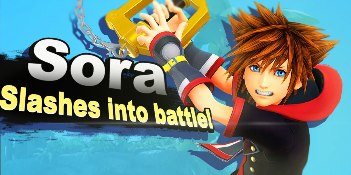 Image result for Smash Bros Ultimate Sora