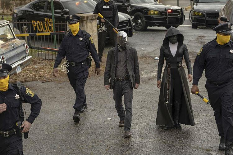 Police in Watchmen episode 1