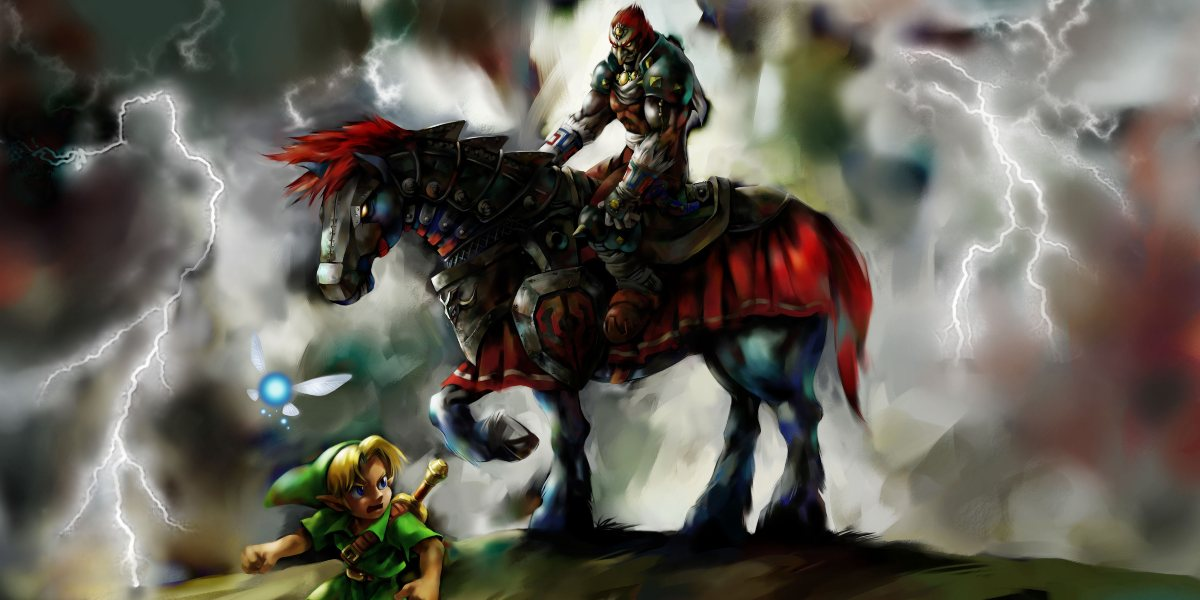 ganon ocarina of time best zelda game