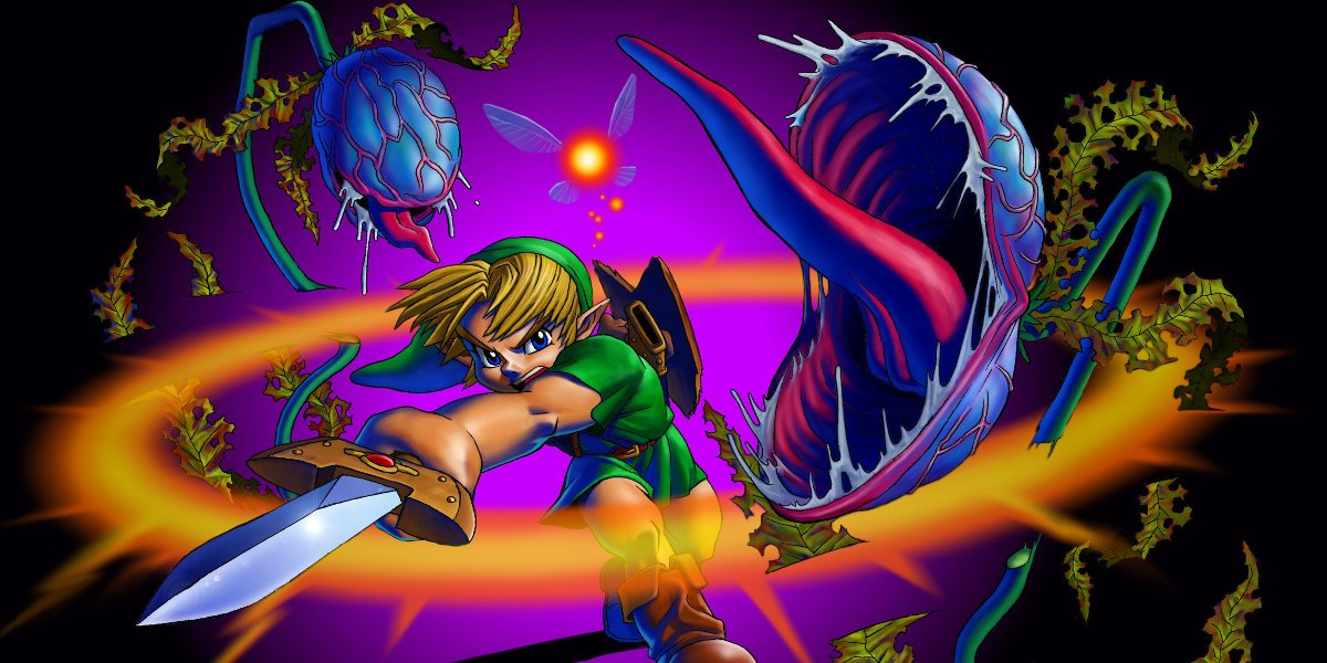 ocarina of time best zelda game of all time deku