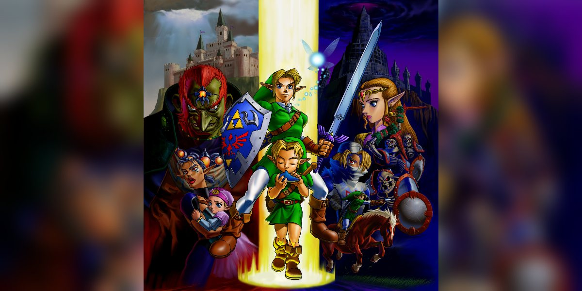 ocarina of time best zelda game of all time
