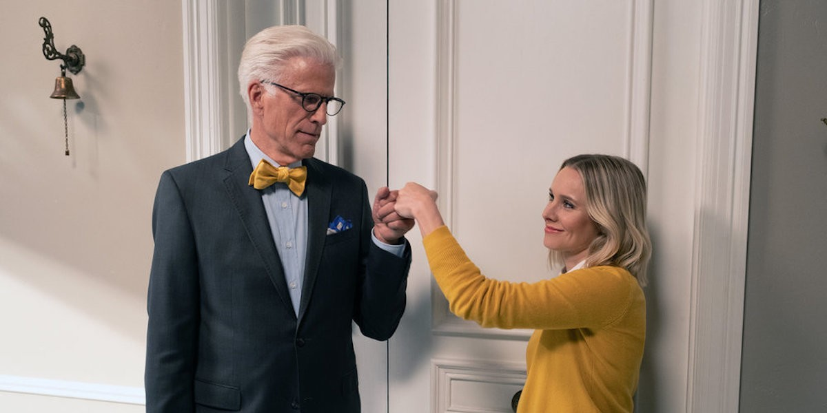 the good place 4x03 Eleanor michael
