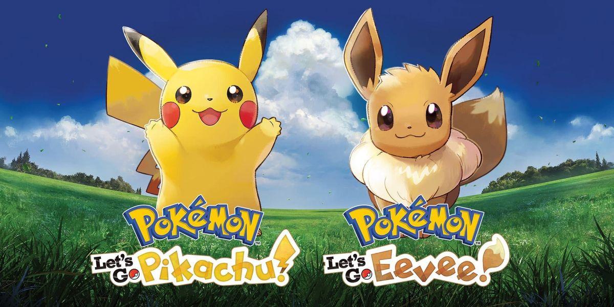 Pokémon let's go pikachu eevee boxart