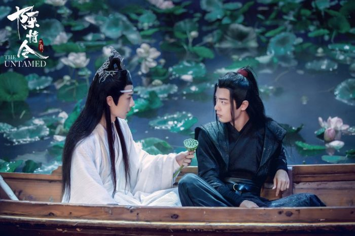 WangXian 'The Untamed' boat